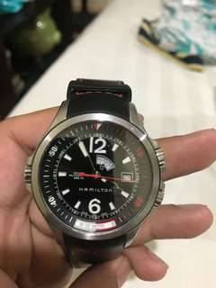 Men's Watch Hamilton Khaki Navy GMT