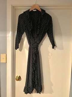 Seed Wrap Dress