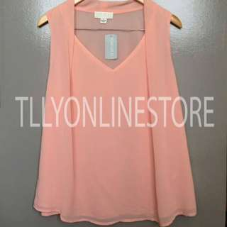 Forever 21 F21 Peach Top