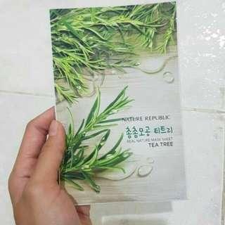 Nature Republic tea tree sheet mask