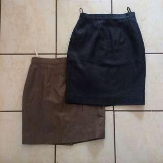 Pencil Skirts w/ slit
