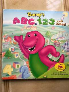 Barney's ABC,123 and more!