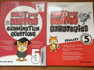 P5 Must Know Math Strategies and Examination Questions
