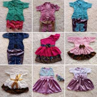 Po Dresses & kebaya for girls