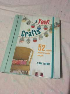 A Year of Craft Book + Free Planner