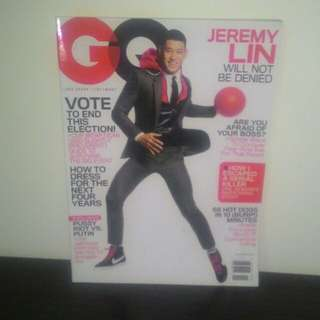 GQ Magazine Jeremy Lin Nov 2012