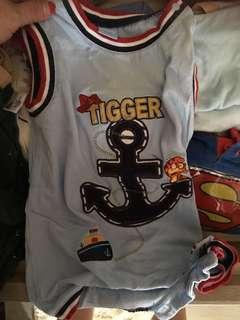 Disney sleeveless romper for boys