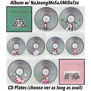 TWICE MERRY AND HAPPY ALBUM PHOTOCARDS CD PLATES PHOTOBOOK POSTCARDS STICKERS TWICETAGRAM WHAT IS LOVE TSB PAGE TWO TWICECOASTER TCL1 TCL2 POB Pre-order DVD CD POSTER PC KPOP