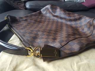 LOUIS VUITTON PORTOBELLO DAMIER EBENE PM N41184LV