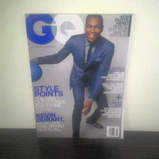 GQ Magazine Kevin Durant March 2015