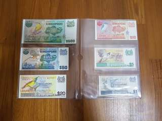 🕊Bird Series Currency Notes🕊