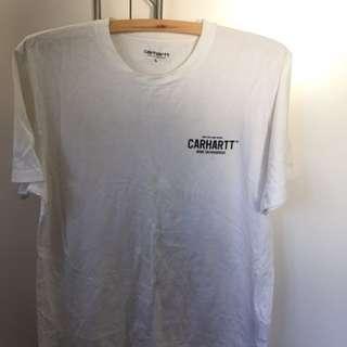 White Carhartt Graphic T Shirt