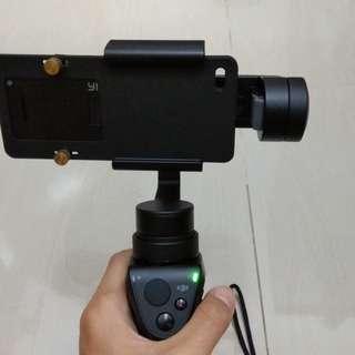 Gopro Xiaomi Universal Adapter Plate For DJI Osmo Mobile Dan Zhiyun