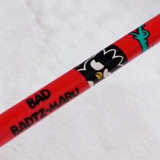 1996年絕版 XO 公仔圖案 木鉛筆 Sanrio人物 BAD BADTZ-MARU