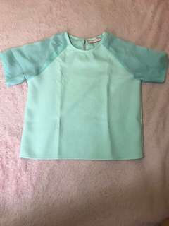 Pre loved but well loved blouse