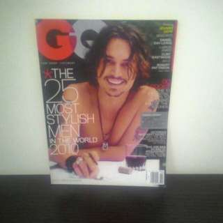 GQ Magazine Feb 2010
