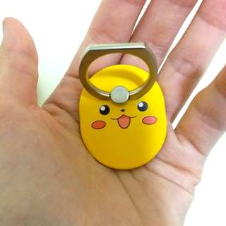 IRing 寵物小精靈 比卡超 Pokemon 手機支架 手機指環