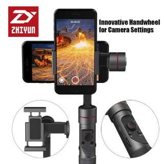 Zhiyun-Tech Smooth-3 Handheld 3-Axis Gimbal Stabilizer for Smartphones (Black)