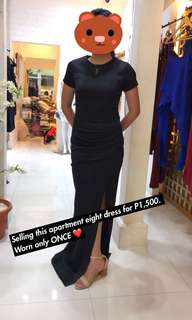 Apartment Eight Black Dress