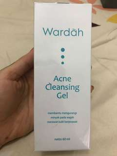 Wardah cleansing gel