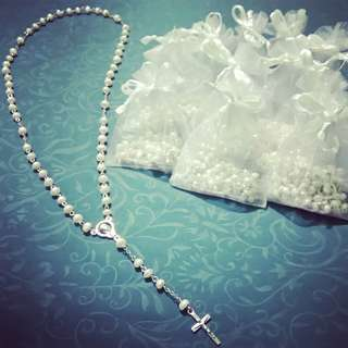 Classic Freshwater Pearl Rosary
