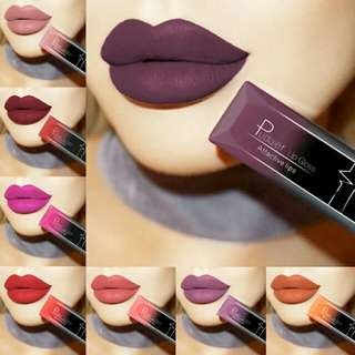 Buy1takeOne Waterproof Nude Matte Velvet Glossy Lip Gloss Lipstick Lip Balm Sexy Red Lip Tint 21 Colors Women Fashion Makeup Gift
