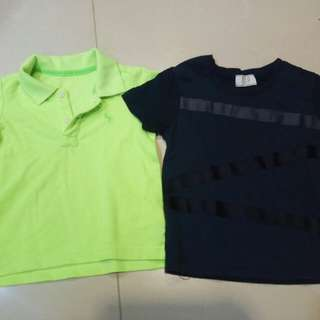 Boy Tshirt and Smart Shirt