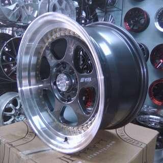 Bursa velg mobil racing type work meister r16x7,5/8,5  lobang baut/pcd 8x100114 bekasi kota velg