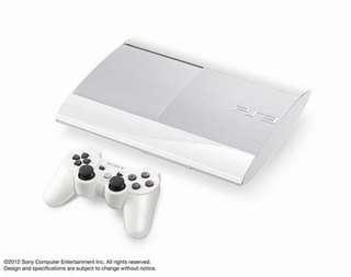 PS3主機+手把/薄型主機 4007型 250G /白色