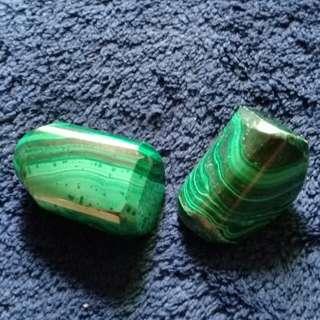 Malachite tumbled stones(price per piece)