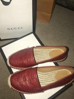 Authentic Gucci espadrilles