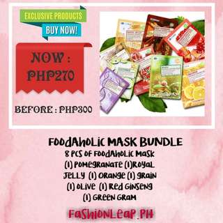 Foodaholic Mask Bundle