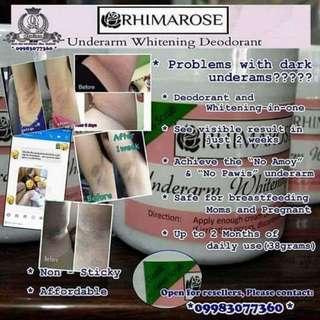 Rhimarose underarm whitening cream