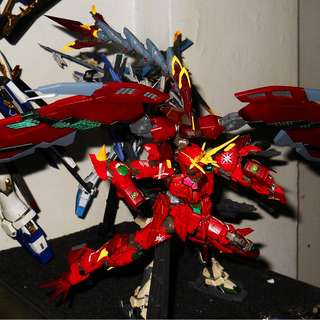 MG Custom Build Red-Dragon Emperor [Gundam]