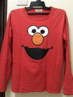 elmo long sleeve t shirt