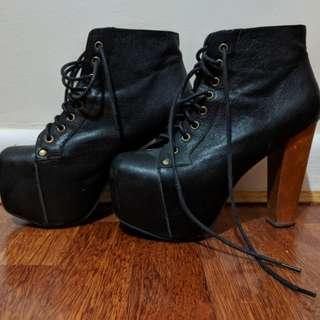 Jeffrey cambell iconic Lita platform shoes
