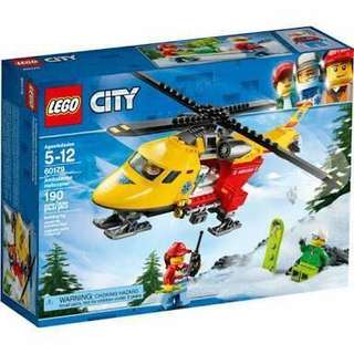 Lego 60179 Ambulance Helicopter
