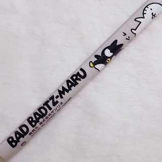1995年絕版 XO 公仔圖案 木鉛筆 Sanrio人物 BAD BADTZ-MARU