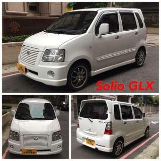 這車超省油Solio頂級GLX雙安轎車版