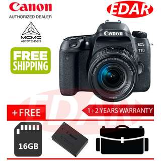 CANON 77D EOS EF-S18-55MM IS STM KIT LENS ««ORIGINAL & OFFICIAL CANON»»