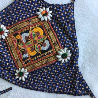 Clothes by Flea embellished crop top