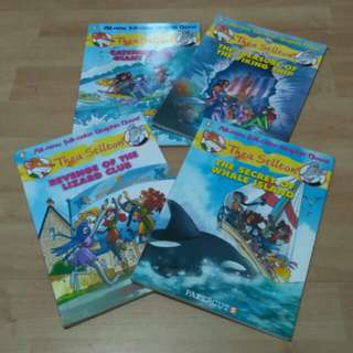 [$45 for all 7] Thea Stilton Comics/Mouseford Academy Books