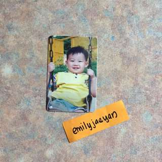 JB Verse 2 (Child) Official Photocard