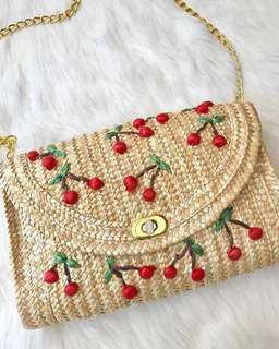 cherry summer bag