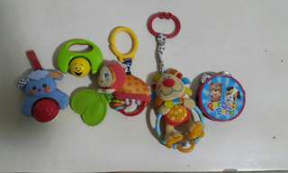 Rattles and stroller toy