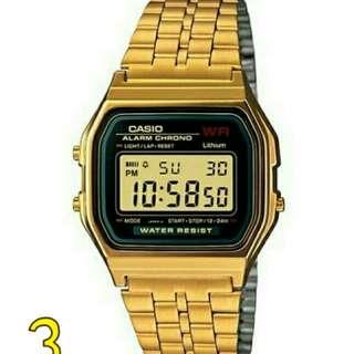 Casio Vintage Watch A159WGEA-1D Unisex