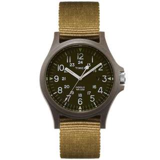 Timex Green Face 34 / Strap 25.5 x 10 mm