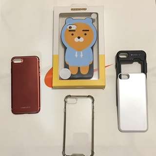 iphone 7 case all $100 for 4pcs 99% new