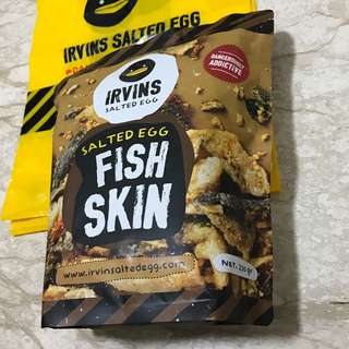 Irvins Salted Egg Fish Skin