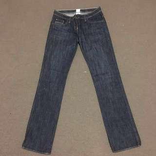 Sass & Bide stylish dark denim jeans